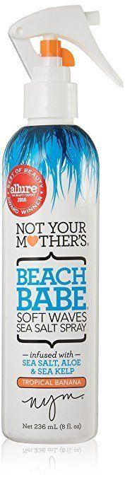 "Get the Not Your Mother's Sea Salt Spray <a href=""https://www.amazon.com/Not-Your-Mothers-Tropical-Banana/dp/B01EVQ39X8/ref=sr_1_5_a_it?ie=UTF8&qid=1520956366&sr=8-5&keywords=beach+wave+hair+spray"" target=""_blank"">here</a>."