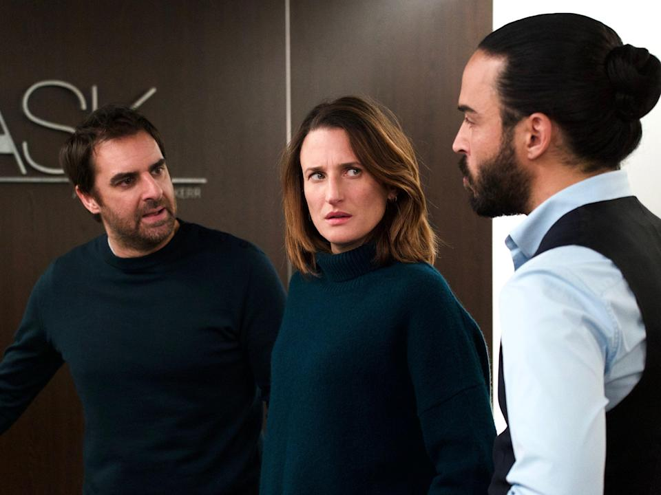 Level playing field: Grégory Montel, Camille Cottin and Assaad Bouab in Call My Agent!Shanna Besson