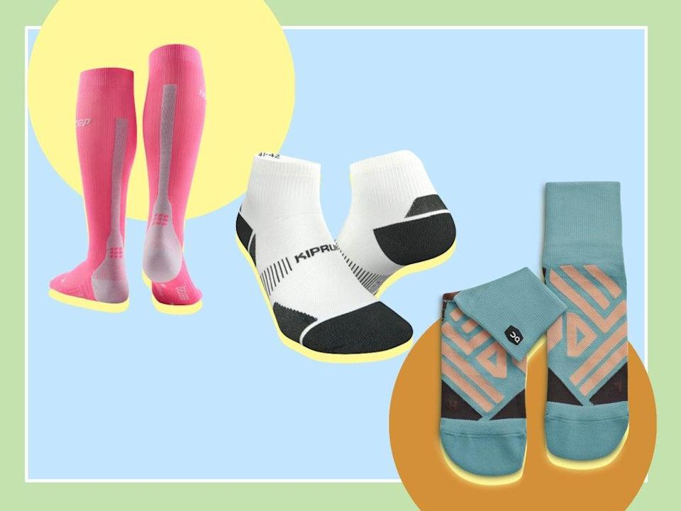 Socks might be the underdog of running gear, but are just as important as shoes  (iStock/The Independent)