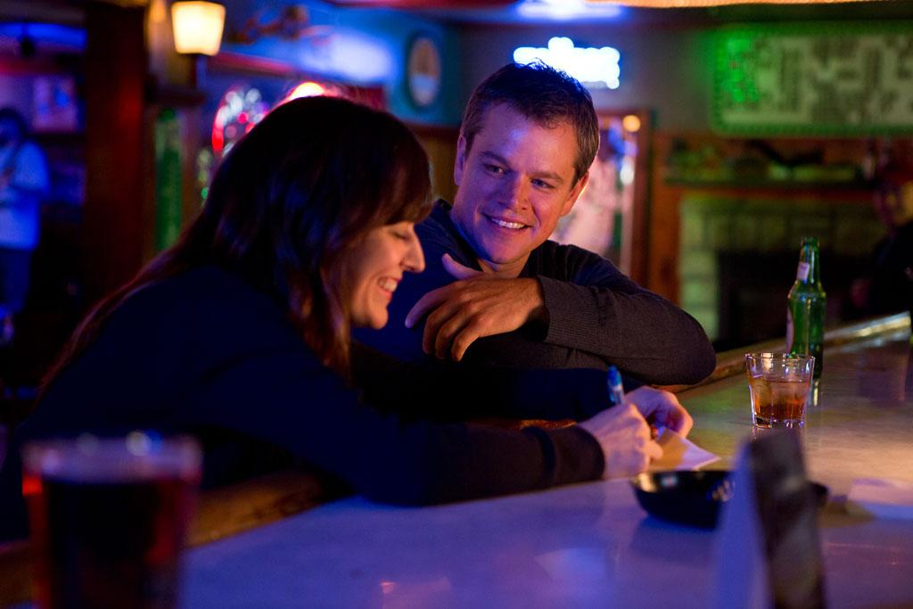 "Rosemarie DeWitt and Matt Damon in Focus Features' ""Promised Land"" - 2012"