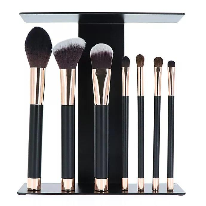 <p>Replace your old makeup brushes with this <span>SpaLife Grab + Glam Magnetic Brush Bar</span> ($10, originally $20). It will keep your brushes upright and organized!</p>