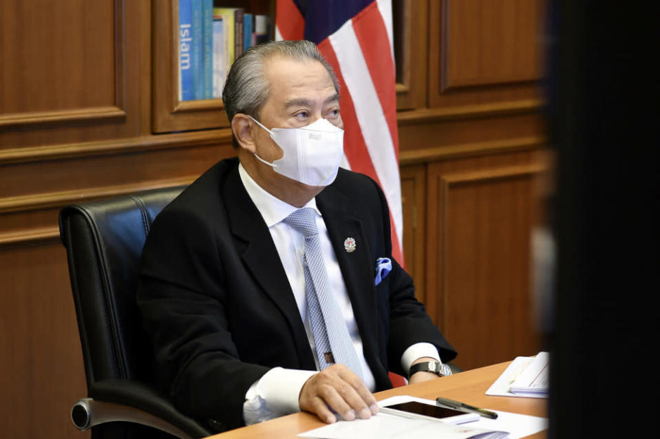 Prime Minister Tan Sri Muhyiddin Yassin is in a stable condition after being hospitalised due to a viral infection in his digestive system. — Bernama pic