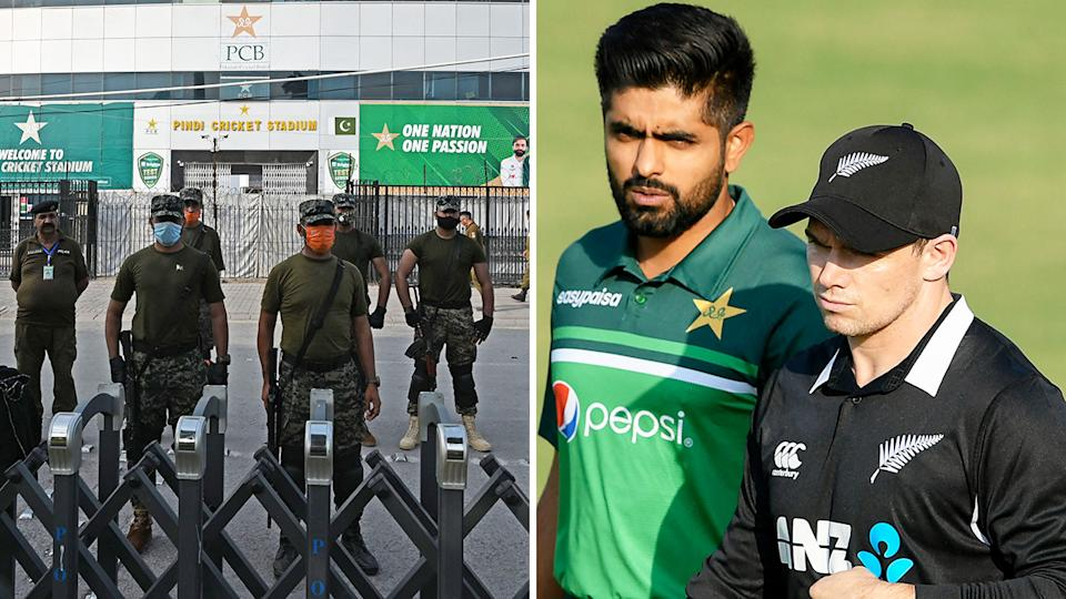 Security concerns were behind New Zealand's controversial move to withdraw from their tour of Pakistan.