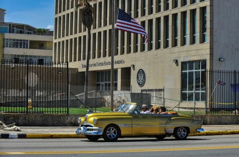 The US embassy in Havana: The US slashed its diplomatic staff in Cuba in 2017 after a number of staffers suffered unexplained brain trauma that some suspect is linked to mysterious sounds