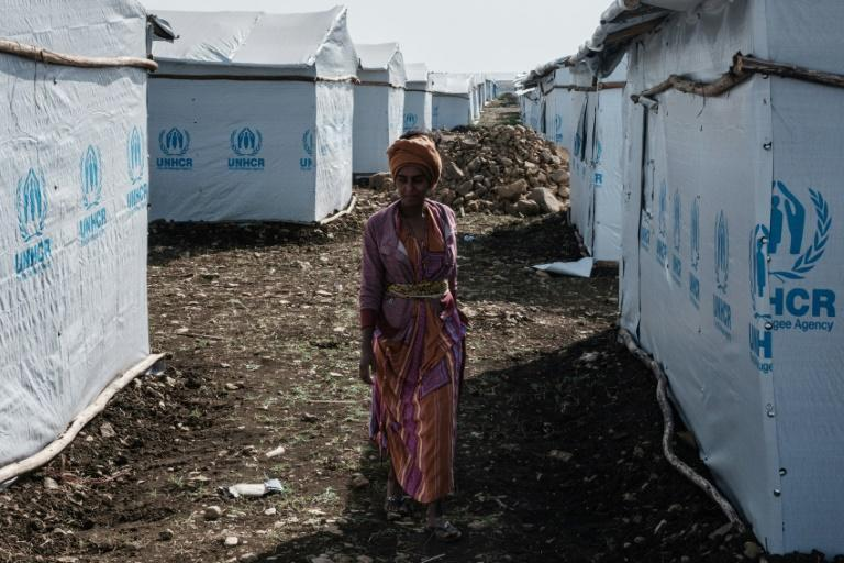 A camp for internally displaced persons (IDP) has been set up in the Tigray capital Mekele