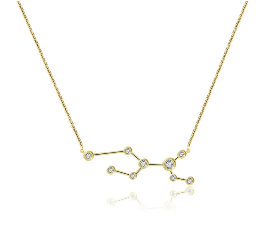 Genevieve Collection Zodiac Constellation Necklace - Wolf & Badger