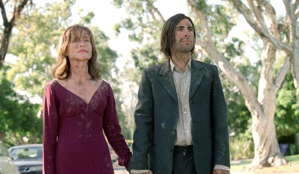 <p>Nominated for: Actress in a Motion Picture, Drama, Elle Embarrassing Role: Although I Heart Huckabees will always be an amazing movie, it's also the film where Isabelle Huppert had gross, muddy field sex. Yeah. </p>