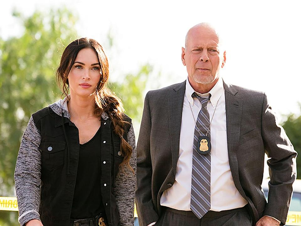 Megan Fox and Bruce Willis in 'Midnight in the Switchgrass' (Lionsgate)