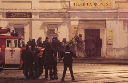 Hostages freed in Ukraine post office standoff