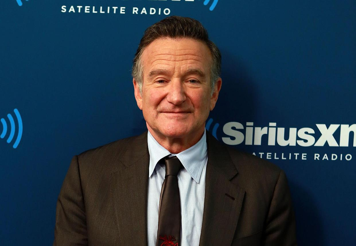 Robin Williams has been remembered by his son on his 70th birthday. (Photo by Robin Marchant/Getty Images)