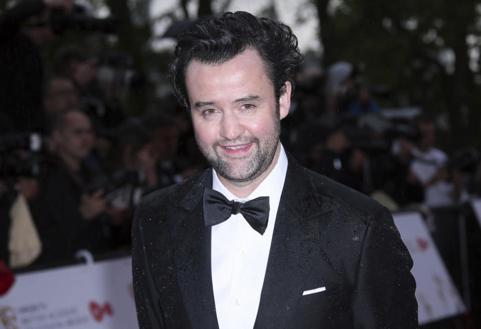 Actor Daniel Mays poses for photographers upon arrival to the British Academy Television Awards at the Royal Festival Hall in London, Sunday, May 14, 2017. (Photo by Joel Ryan/Invision/AP)