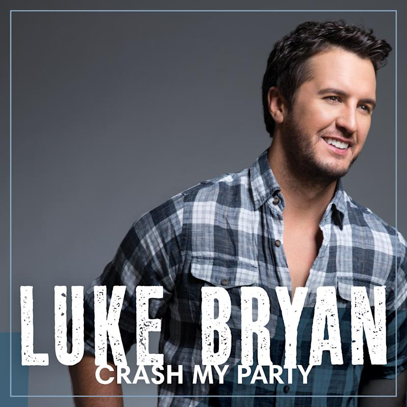 "This CD cover image released by Capitol Nashville shows ""Crash My Party,"" by Luke Bryan. (AP Photo/Capitol Nashville)"
