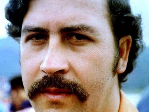 File photo of deceased Colombian drug lord Pablo Escobar: STF/AFP/Getty Images