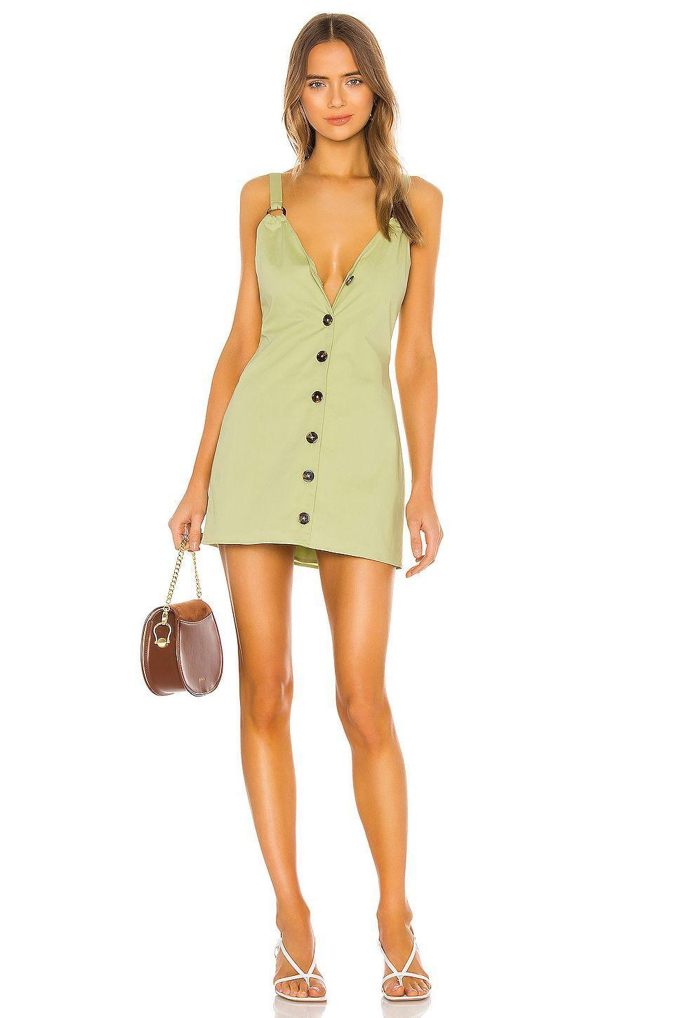"""<p><strong>House of Harlow 1960 x REVOLVE</strong></p><p>revolve.com</p><p><strong>$135.00</strong></p><p><a href=""""https://go.redirectingat.com?id=74968X1596630&url=https%3A%2F%2Fwww.revolve.com%2Fdp%2FHOOF-WD647%2F&sref=https%3A%2F%2Fwww.cosmopolitan.com%2Fstyle-beauty%2Ffashion%2Fg13602855%2Fbest-gift-ideas-for-women%2F"""" rel=""""nofollow noopener"""" target=""""_blank"""" data-ylk=""""slk:Shop Now"""" class=""""link rapid-noclick-resp"""">Shop Now</a></p><p>More dresses should be made with adjustable straps and buttons, and this is my swan song. But at least this pretty option already has 'em and is perfect for a low-key summer date night.</p>"""