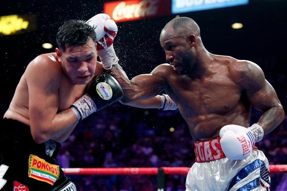 Cuba's Yordenis Ugas is the current WBA 'super' welterweight champion (Getty Images)
