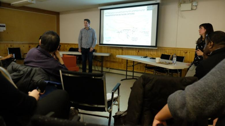 Iqaluit residents voice concerns about traffic flow at Federal Road development