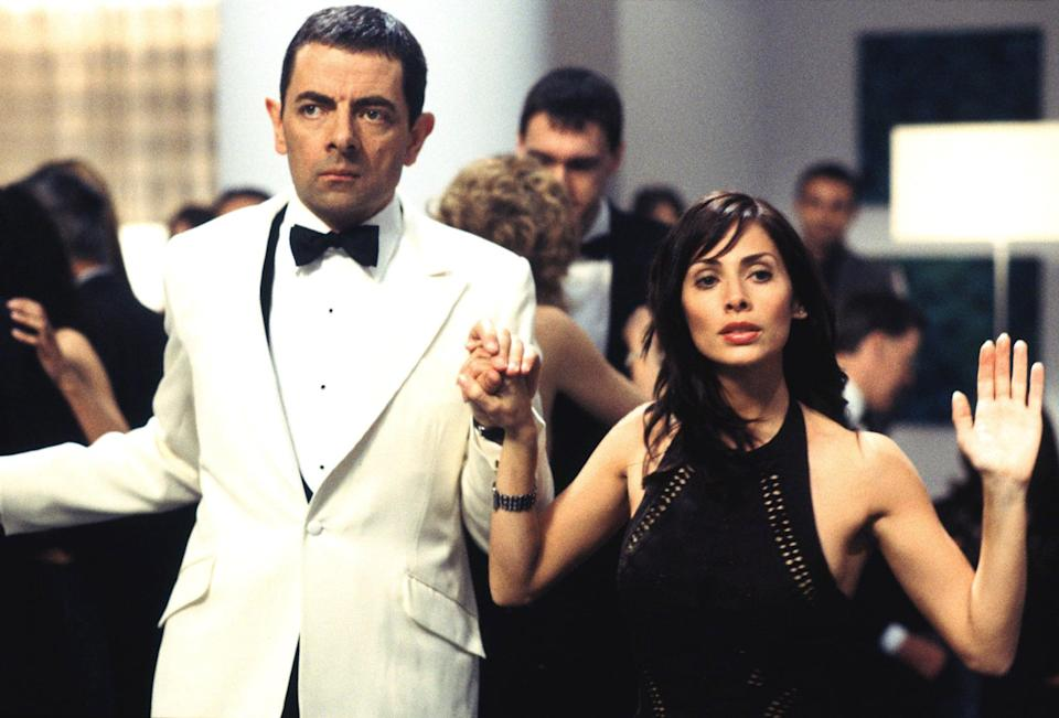 """<p><strong>What it's about:</strong> """"There's a Frenchman after the crown jewels and the throne itself -- but not to worry, secret agent extraordinaire Johnny English is on the case.""""</p> <p><a href=""""https://www.netflix.com/title/60026148"""" class=""""link rapid-noclick-resp"""" rel=""""nofollow noopener"""" target=""""_blank"""" data-ylk=""""slk:Stream Johnny English on Netflix!""""> Stream <strong>Johnny English</strong> on Netflix!</a></p>"""