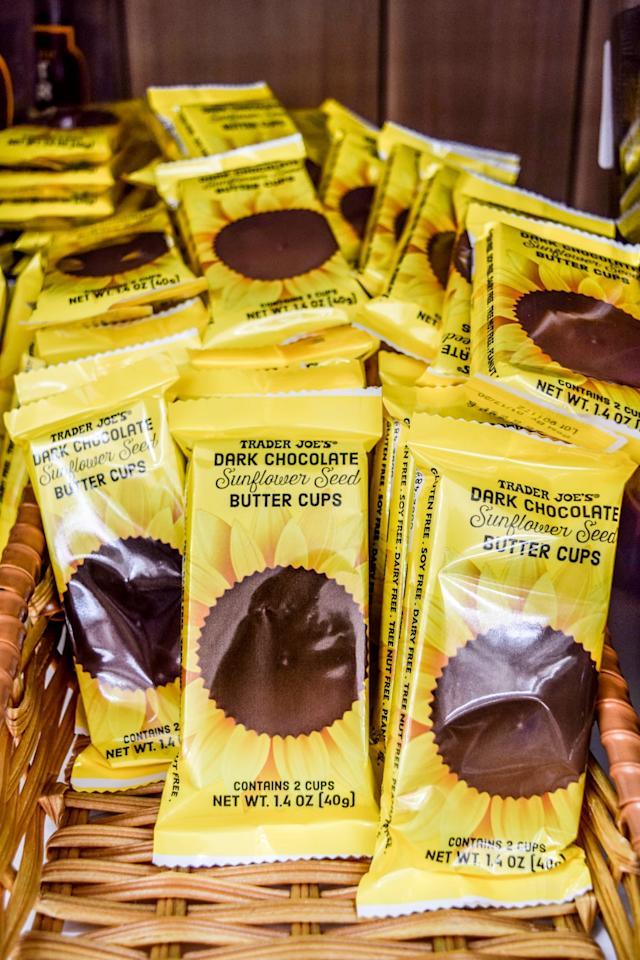<p>There's a new kid in town, regular peanut butter cups. The perfect combo of salty and sweet, these guys are gonna go fast.</p>