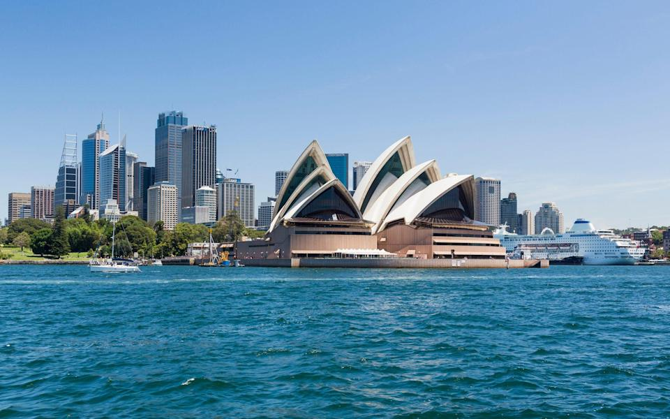 Sydney is home to some of Australia's most iconic sights, including its famous opera house - STEVE HEAP