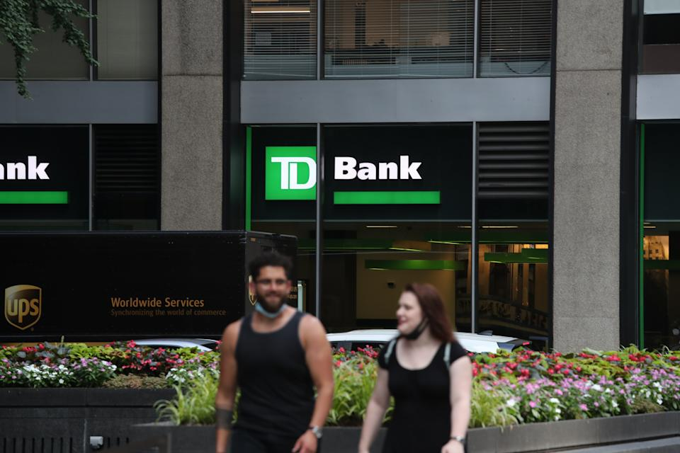 TD Bank is just one of several banks that are reevaluating overdraft fees. (Photo: Rob Kim/Getty Images)