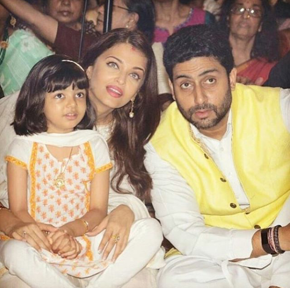 Aishwarya and her husband, Abhishek Bachchan, have been married for ten years and share a daughter together. Source: aishwaryaarai/Instagram