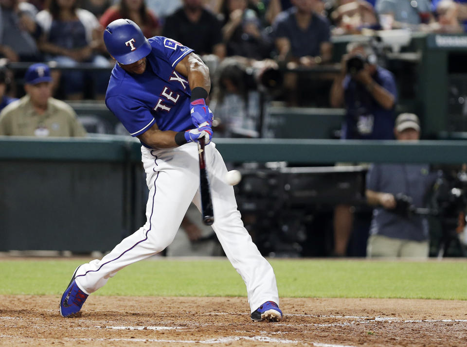 Adrian Beltre has added another accomplishment to his lengthy resume. (AP Photo/Brandon Wade)