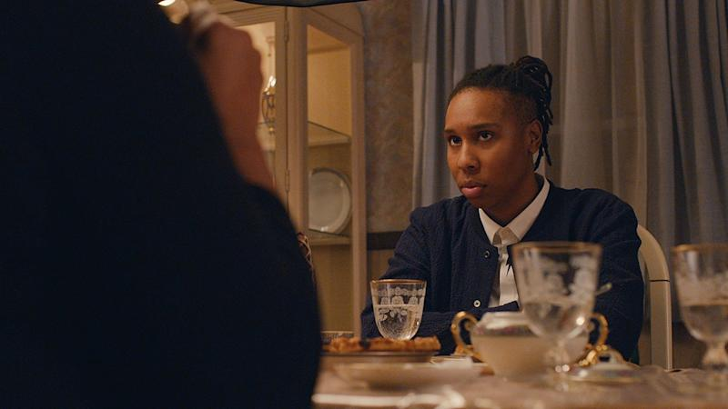 Master of None's Denise, played by Lena Waithe, goes home for Thanksgiving and struggles with coming out to her family in this Emmy-winning episode of the series cowritten by Waithe. Photo courtesy of IMDB.