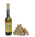 """<p>This one's for the sentimental types: If you save empty wine bottles from important nights — your engagement party, the night before the wedding — these corks give them purpose. They're actually made from wax and fitted with a wick to turn bottles into candles.</p><p><strong><em>BUY IT NOW: Wine Cork Candles, $20; </em></strong><a href=""""https://www.uncommongoods.com/product/wine-cork-candles-set-of-12"""" rel=""""nofollow noopener"""" target=""""_blank"""" data-ylk=""""slk:Uncommongoods.com"""" class=""""link rapid-noclick-resp""""><strong><em>Uncommongoods.com</em></strong></a></p>"""
