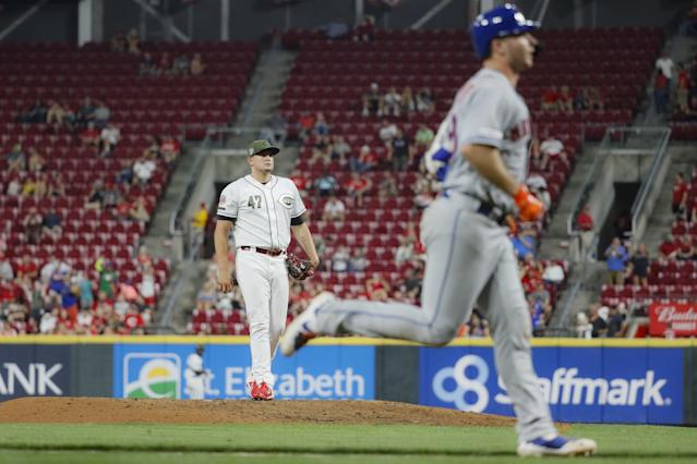 Mets 8, Reds 1 | Rookie Pete Alonso hits 50th home run for Mets