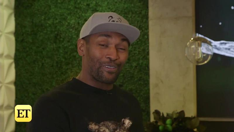 Metta World Peace Reveals Who He Thinks Will Win  Celebrity Big Brother   Following Eviction (Exclusive) a408b3f6e
