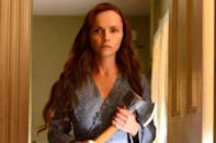 <p>The 2014 Lifetime biopic <em>Lizzie Borden Took An Axe</em> stars Christina Ricci as the title character Lizzie Borden. The movie tells the story of how Borden was tried and acquitted for the murders of her father and stepmother in 1892. The film was actually really successful, and went on to become a miniseries called <em>The Lizzie Borden Chronicles.</em> </p>
