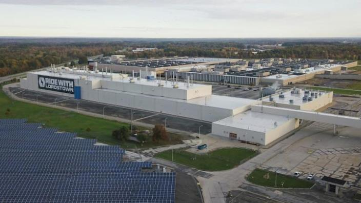 The Lordstown Motors factory where GM once operated, in Lordstown, Ohio plans to begin commercial production in September 2021
