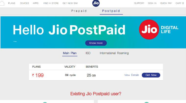 Airtel, Airtel postpaid, Vodafone postpaid, Reliance Jio, Vodafone Rs 399 postpaid plan, Airtel Rs 399 postpaid offer, Reliance Jio postpaid Rs 199, Vodafone plan free Netflix subscription, free Amazon Prime Vodafone postpaid, Airtel Rs 499 postpaid plan, Vodafone Rs 499 postpaid plan
