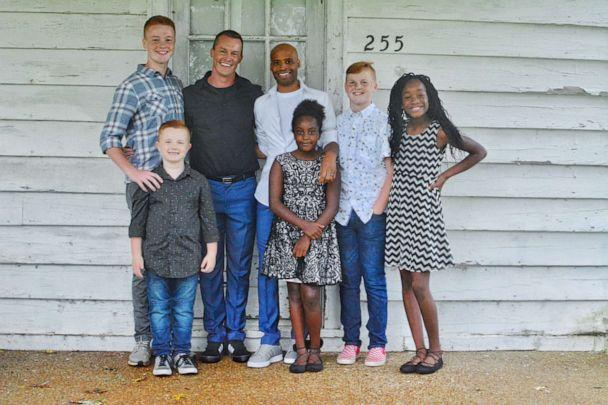 PHOTO: Robison says his husband Cameron is 'amazing' with his children. (Michael Robison)