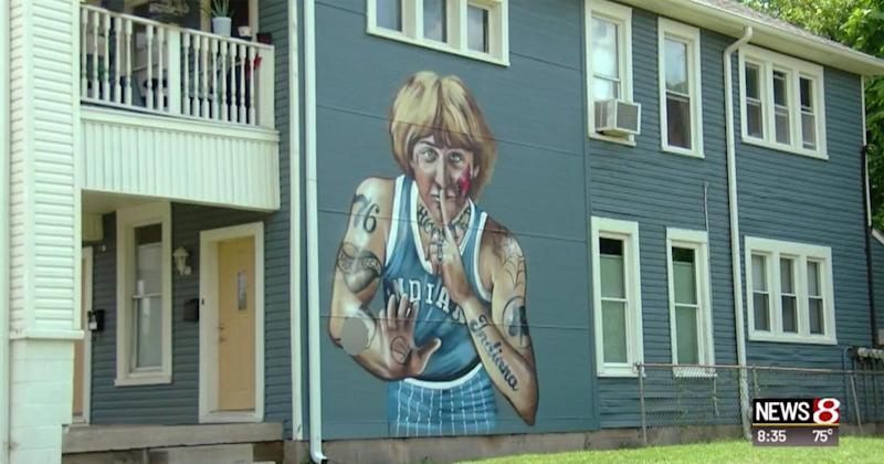 Larry Bird Wants Tattoos Removed from Indianapolis Mural That Portrays Him with Ink