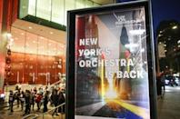 After enduring months of crisis, the New York Phil, one of America's oldest musical institutions, re-opened with a program featuring Beethoven and Copland (AFP/KENA BETANCUR)