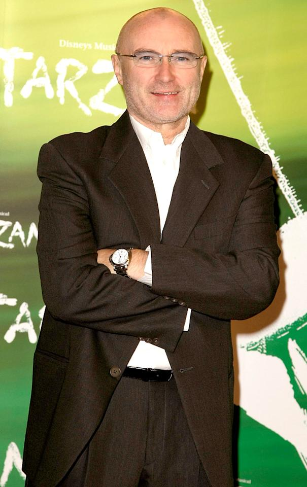 Musician Phil Collins turns 61 on January 30.