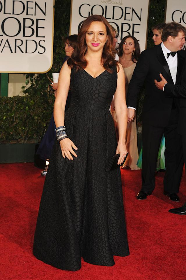 Maya Rudolph arrives at the 69th Annual Golden Globe Awards in Beverly Hills, California, on January 15.