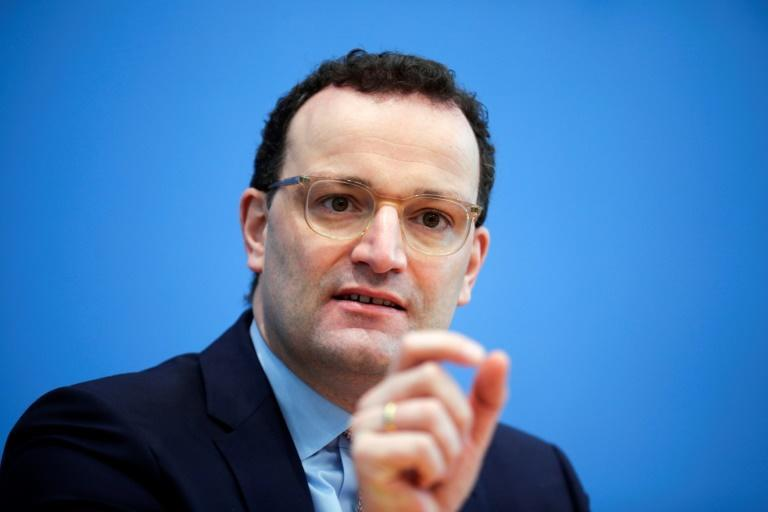 German Health Minister Jens Spahn said talks were ongoing with Moscow to explore production capacities for the Sputnik jab in Germany or elsewhere in Europe