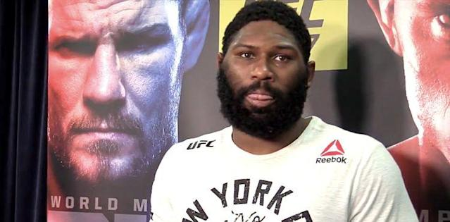 Curtis Blaydes Grounds and Pounds Mark Hunt (UFC 221 Results)