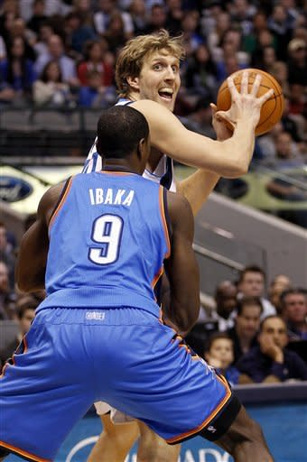 Mavs send Thunder to first loss with 100-87 win