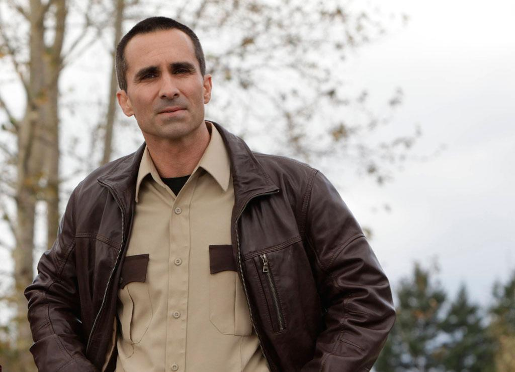"Nestor Carbonell as Sheriff Alex Romero in A&E's ""Bates Motel"" coming in March 2013."