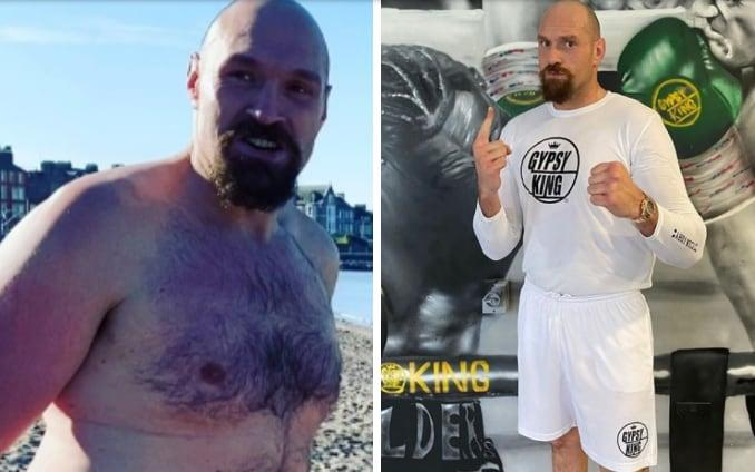 From '12 pints a day' to fighting fit... in two weeks: Inside a Tyson Fury training camp - INSTAGRAM:TYSON FURY