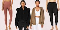 """<p>If you've been patiently waiting for <a href=""""https://www.seventeen.com/fashion/a34691218/2020-black-friday-clothing-deals/"""" rel=""""nofollow noopener"""" target=""""_blank"""" data-ylk=""""slk:Black Friday"""" class=""""link rapid-noclick-resp"""">Black Friday</a> to upgrade your athleisure game, I have very good news. Cult-favorite brand <strong><a href=""""https://go.redirectingat.com?id=74968X1596630&url=https%3A%2F%2Fwww.aloyoga.com%2F&sref=https%3A%2F%2Fwww.seventeen.com%2Ffashion%2Fg34741586%2Falo-yoga-black-friday-sale-2020%2F"""" rel=""""nofollow noopener"""" target=""""_blank"""" data-ylk=""""slk:Alo Yoga"""" class=""""link rapid-noclick-resp"""">Alo Yoga</a>'s only sitewide sale of the year</strong> just started and every single item is on sale for <em>at least</em> 20 percent off until December 1. Even better? With additional markdowns, some items are <strong>up to 70 percent off</strong> their original price tag. </p><p>The sale officially begins on November 25, but you can start shopping today, November 19 with promo code <strong><a href=""""https://www.aloyoga.com/"""" rel=""""nofollow noopener"""" target=""""_blank"""" data-ylk=""""slk:EARLYACCESS20"""" class=""""link rapid-noclick-resp"""">EARLYACCESS20</a></strong>. And there's no need to worry about missing out on better deals next week as discounts will be the same. (Avid fans should note that a new style is being released each day between November 25 and 29 as part of the sale.) </p><p>From the <a href=""""https://go.redirectingat.com?id=74968X1596630&url=https%3A%2F%2Fwww.aloyoga.com%2Fproducts%2Fw5767r-7-8-high-waist-moto-legging-black&sref=https%3A%2F%2Fwww.seventeen.com%2Ffashion%2Fg34741586%2Falo-yoga-black-friday-sale-2020%2F"""" rel=""""nofollow noopener"""" target=""""_blank"""" data-ylk=""""slk:moto leggings"""" class=""""link rapid-noclick-resp"""">moto leggings</a> every celebrity from Taylor Swift to Katie Holmes owns to fuzzy-feeling <a href=""""https://go.redirectingat.com?id=74968X1596630&url=https%3A%2F%2Fwww.aloyoga.com%2Fproducts%2Fw4313r-foxy-sherpa-jacket-black&sref=https%3A%2F%2Fwww.sev"""