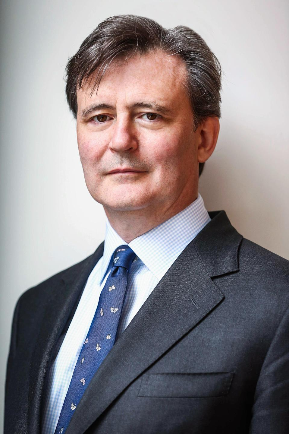 editor-in-chief of Bloomberg News John MicklethwaitHandout