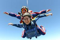 "<p>While jumping out of a plane may be a little extreme, stepping outside your comfort zone will force your body to ""turn on,"" raising your heart rate and getting your adrenaline pumping. </p>"
