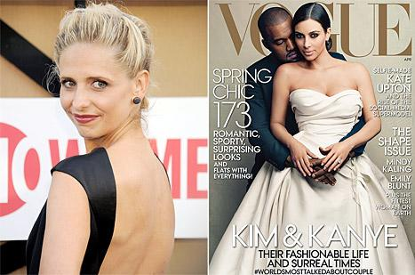 "Sarah Michelle Gellar Slams Kim Kardashian's Vogue Cover: ""I'm Canceling My Vogue Subscription"""
