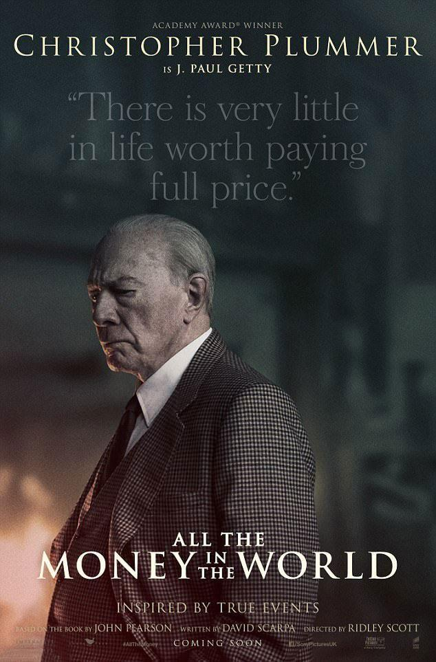 Plummer takes a starring role in the trailer, as well as on posters for the flick. Source: Roadshow Films