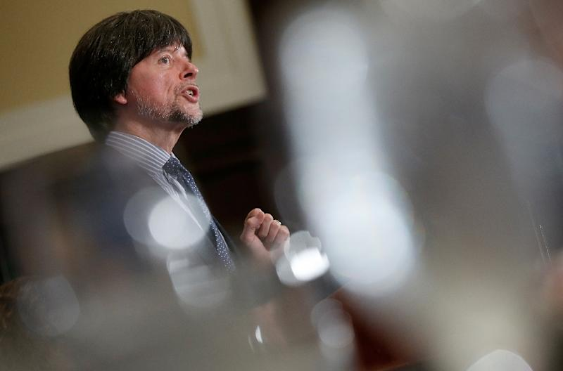 Filmmaker Ken Burns, pictured in 2014, has filmed an 18-hour television documentary on the Vietnam War