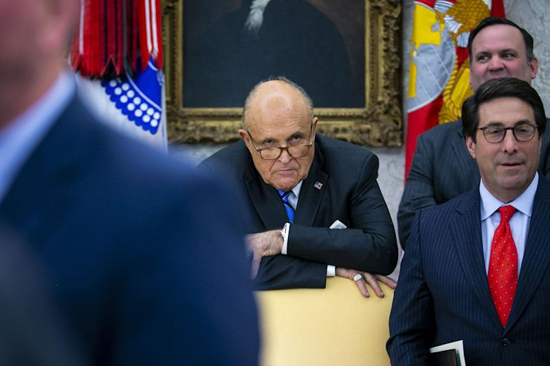 Rudy Giuliani Sought Role in Ukraine Bank Case While He Dug for Dirt